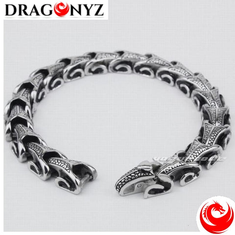 DRAGON BRACELET MADE OF SOLID STAINLESS STELL