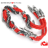 DRAGON BRACELET -RED OR BLACK SOPHISTICAL