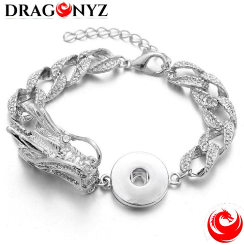 DRAGON BRACELET -WIDE HARD CHAIN