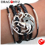 DRAGON BRACELET WITH ALLOY PATTERN