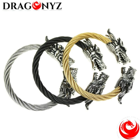 DRAGON BRACELET - WITH DRAGON HEAD
