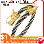 DRAGON BRACELET WITH KNOTTED CORD