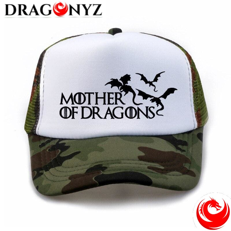 DRAGON CAP - MOTHER OF DRAGON BI-COLOR