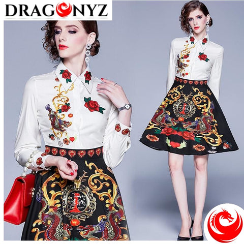 DRAGON DRESS - FLORAL