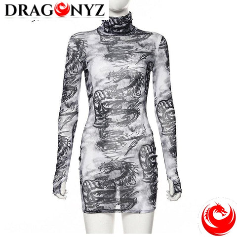 DRAGON DRESS - GOTH DARK