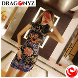 DRAGON DRESS - MINI-DRESS