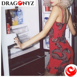 DRAGON DRESS - RED