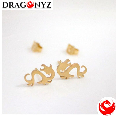 DRAGON EARRINGS - ANTI ALLERIGIC STAINLESS STEEL