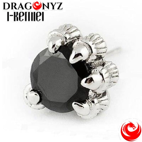 DRAGON EARRINGS - CLAWS WITH DIAMOND