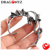 DRAGON EARRINGS EASY TO PUT ON