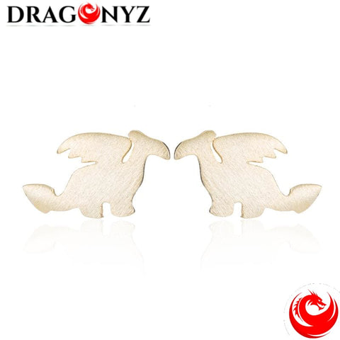 DRAGON EARRINGS - ELEGANT AND REFINED