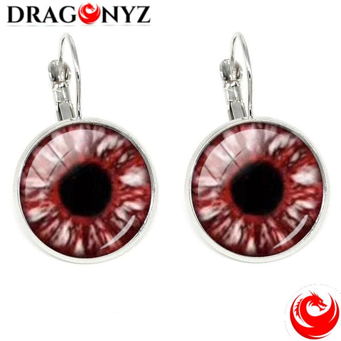 DRAGON EARRINGS - EVIL EYE