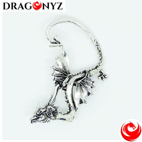 DRAGON EARRINGS - GOTHIC
