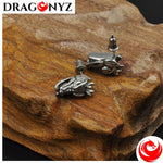 DRAGON EARRINGS - HEAD FOR MEN