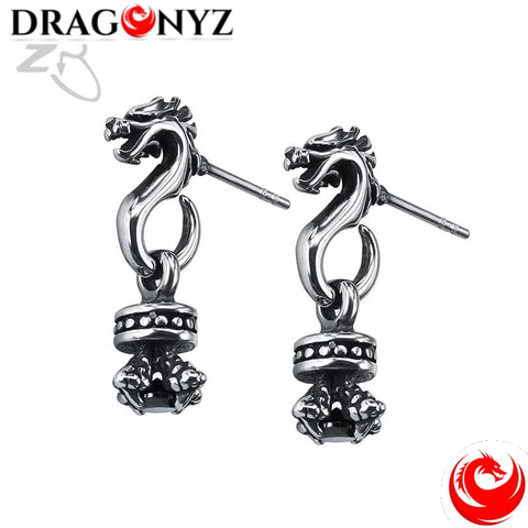 DRAGON EARRINGS - MODERN DESIGN