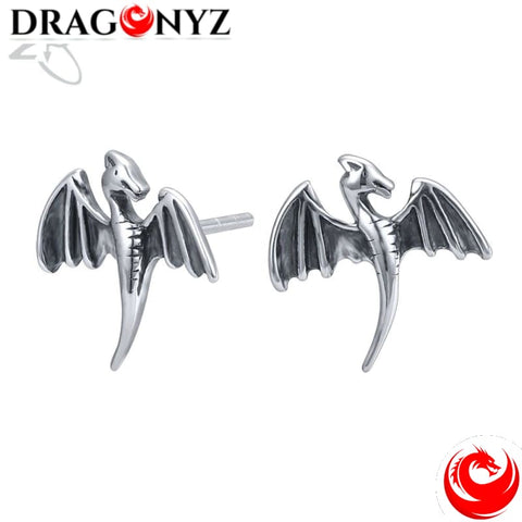 DRAGON EARRINGS - STAINLESS STEEL WOMEN