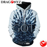 DRAGON HOODIE - DRAGON AND CHARACTER