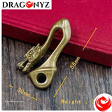 DRAGON KEYCHAIN - BRASS DRAGON