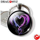 DRAGON KEYCHAIN - EYE RESIN