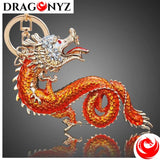 DRAGON KEYCHAIN - GOLD PLATED