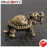 DRAGON KEYCHAIN - Lucky Dragon Turtle