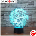 DRAGON LAMP - CHINESE