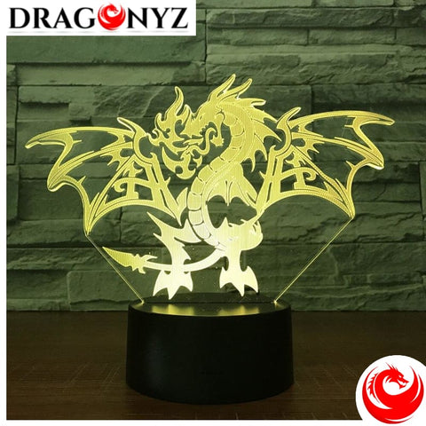 DRAGON LAMP - FIRE