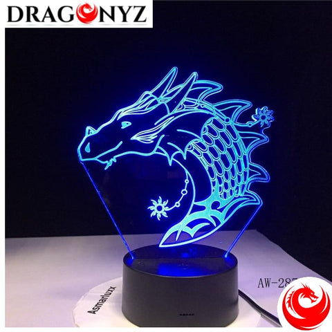 DRAGON LAMP - FISH DRAGON