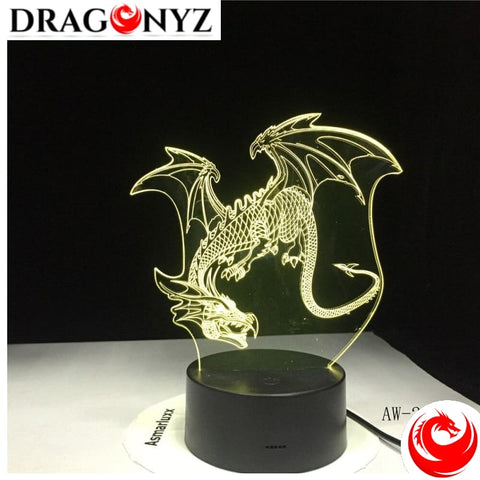 DRAGON LAMP - FLYING