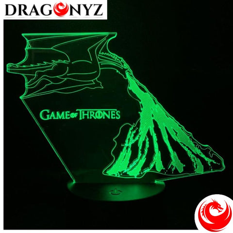 DRAGON LAMP - GAME OF THRONES