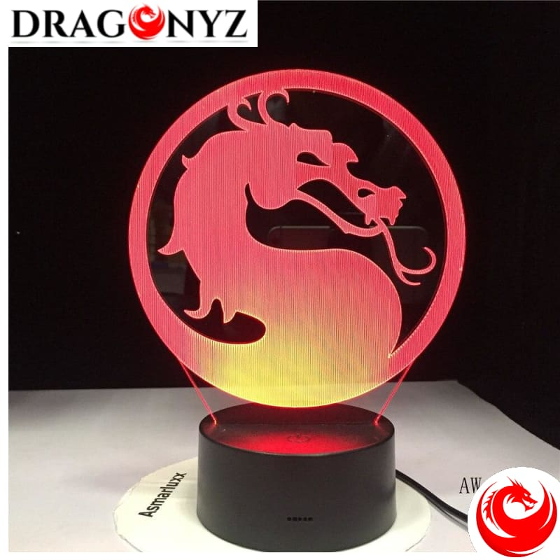 DRAGON LAMP - MORTAL COMBAT
