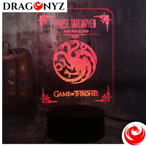 DRAGON LAMP - TARGARYEN