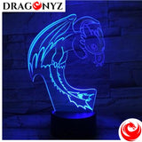 DRAGON LAMP - TOOTHLESS