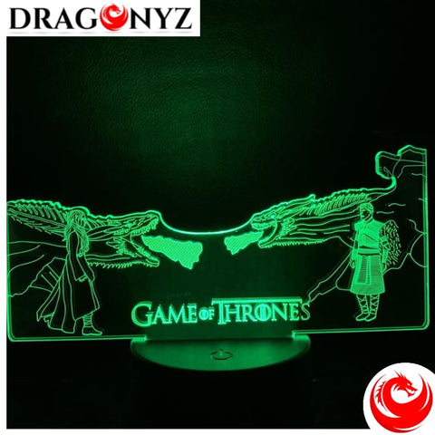 DRAGON LAMP - DRAGON VS