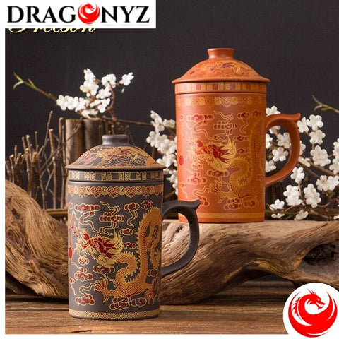 DRAGON MUG - CHINESE INFUSER