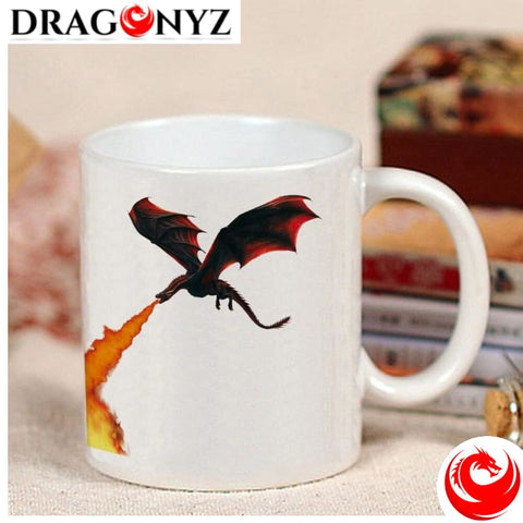 DRAGON MUG - ICE VS FIRE