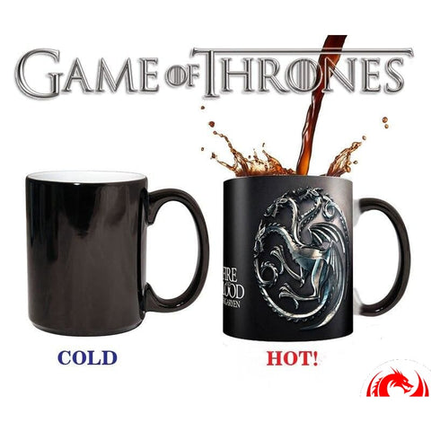 DRAGON MUG - THREE HEAD