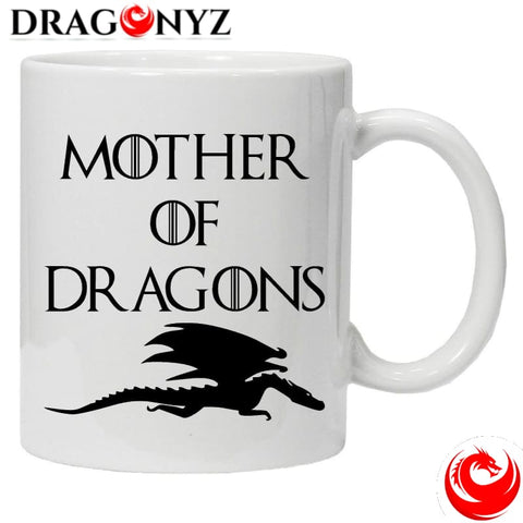 DRAGON MUG - WHITE