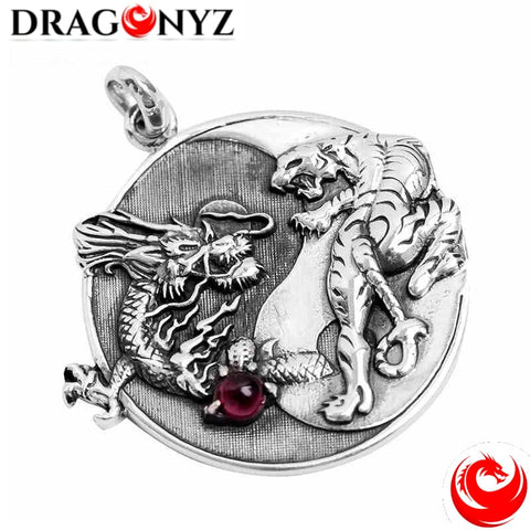 DRAGON NECKLACE - 925 SILVER