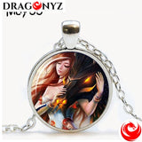 DRAGON NECKLACE - ART PICTURE