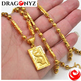 DRAGON NECKLACE - BALL BEADS