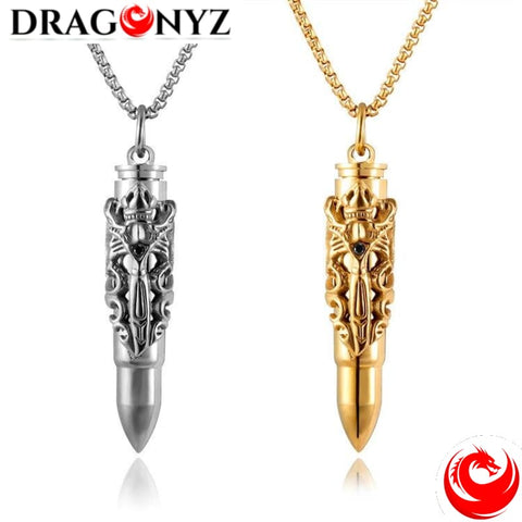 DRAGON NECKLACE - BULLET SHAPED