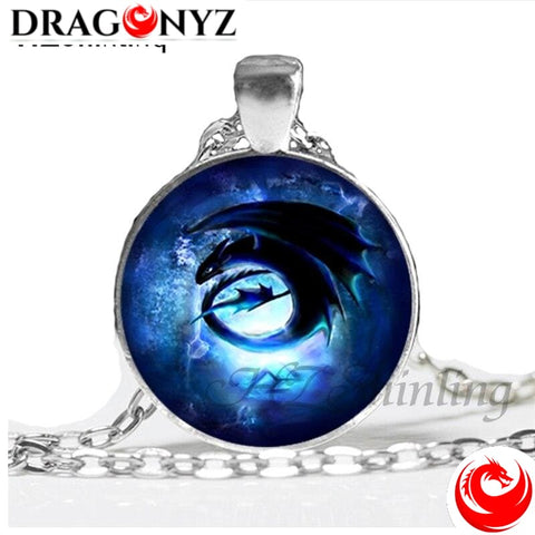 DRAGON NECKLACE - CABOCHON TOOTHLESS