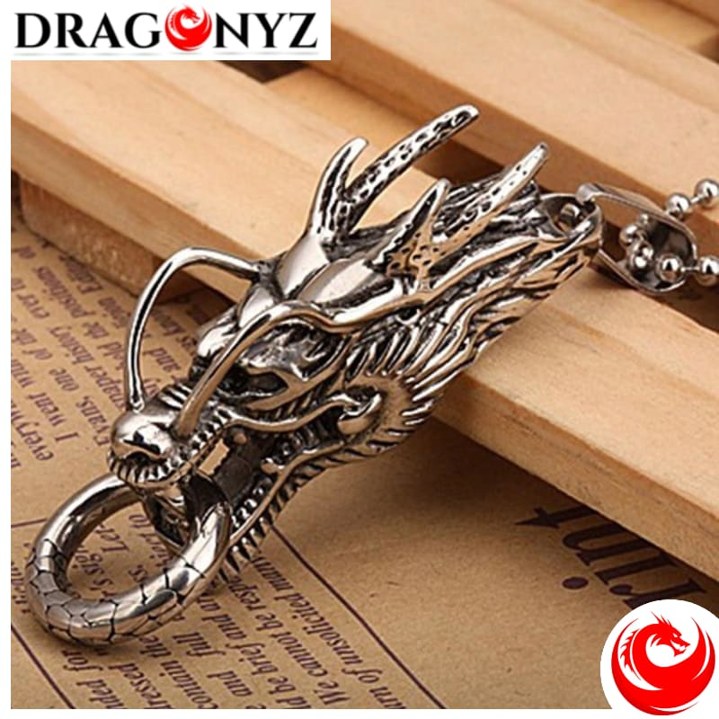 DRAGON NECKLACE - CHINESE TOTEM