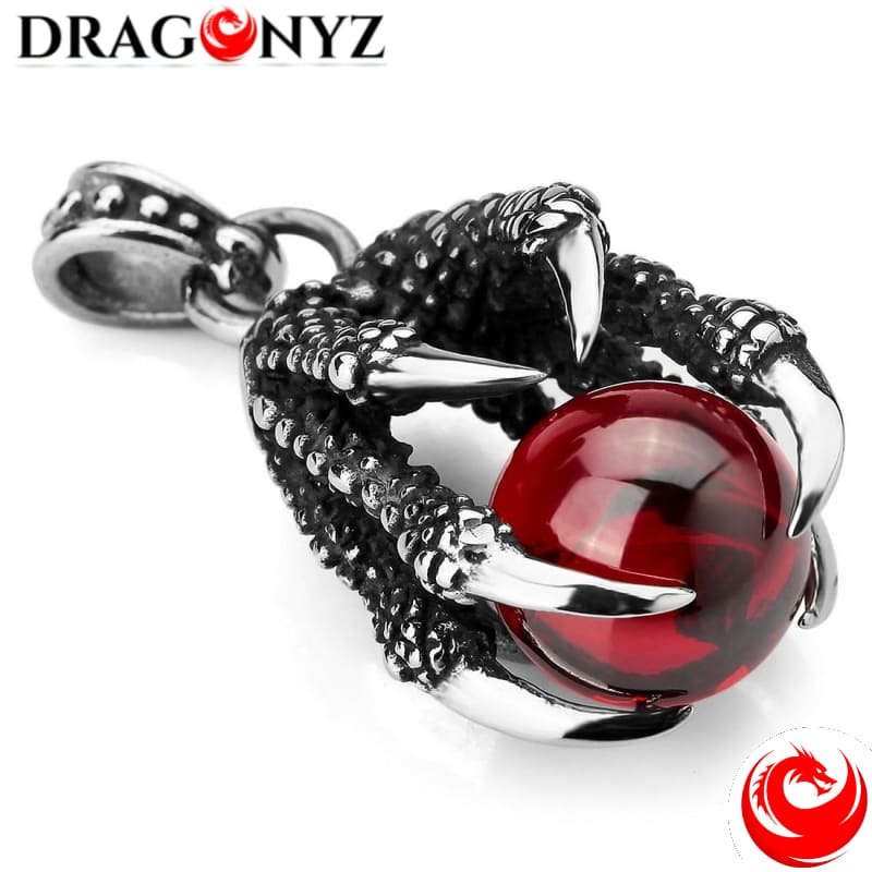 DRAGON NECKLACE - CLAWS BEAT GOTHIC