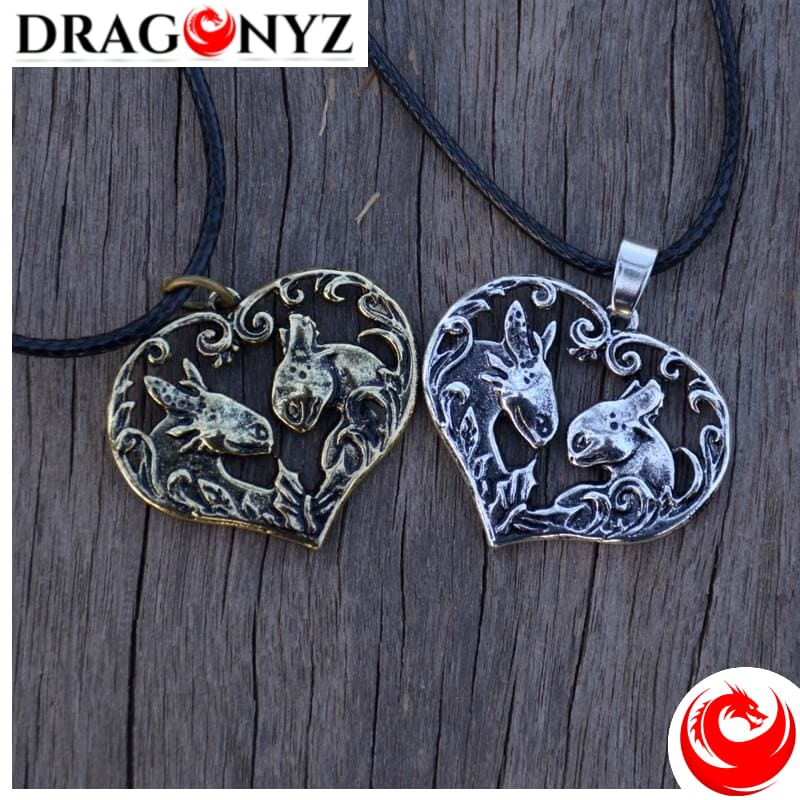 DRAGON NECKLACE - COUPLE OF TOOTHLESS