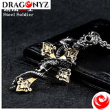 DRAGON NECKLACE - DRAGON CROSS 2