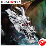 DRAGON NECKLACE - CRYSTAL EYES
