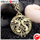 DRAGON NECKLACE - DOUBLE DRAGON