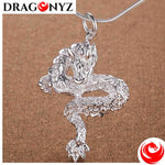 DRAGON NECKLACE - DRIVER SILVERY